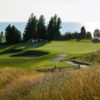 A view of one of the toughest holes on the course, the 13th at Arcadia Bluffs Golf Club