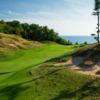 A view from Arcadia Bluffs Golf Club