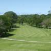A view of a fairway at Berrien Hills Golf Club.