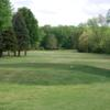 A view from a tee at Clark Lake Golf Course