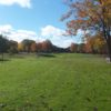A fall view from The Oaks At Kincheloe