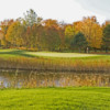 A view of green #9 at Valley from Old Channel Trail Golf Course