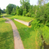 A view of a tee at Willow Brook Golf Club