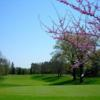 A spring view of hole #15 at Flint Golf Club