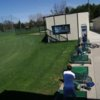 A view of the driving range tees at King Par Golf Course