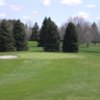 A view of a green at Northwood Golf Course