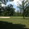 A view of the 13th green at Hadley Acres