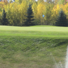 A view of a green at Iron River Country Club