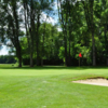 A view of the 17th green at Crestview Golf Course