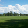 A sunny day view of a fairway at Ontonagon Golf Course (Sara Hirvela)
