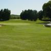 A view of a green at Benona Shores Golf Course