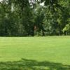 A view of a green at Holland Lake Golf Course