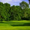 A view of a hole at Cascades Golf Course