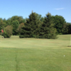 A view of a green at Silver Lake Golf Course (Robb Collier).