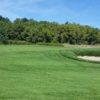 A view of a green at Fox Hills Golf Center.