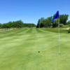 View from a green at Lake Erie Metropark Golf Course
