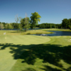 A view of green #4 at Falcon from Pine Knob Golf Club