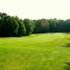 A view of a fairway at Thoroughbred Golf Club.