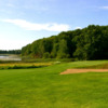 A view of a green at Thoroughbred Golf Club.