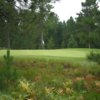 A view of a green at NMU Golf Course.