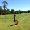 A view of a tee at NMU Golf Course.