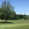 A view of a tee at Cascade Hills Country Club.