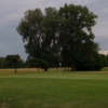 A view of a green at Southmoor Golf Course.