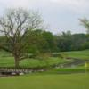 A view of two holes at Fellows Creek Golf Course.