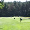 A view from a tee at Birchwood Farms Golf & Country Club.