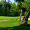 A sunny day view of a hole at Charlevoix Golf & Country Club.