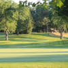 A sunny day view of a hole at Traverse City Golf & Country Club.