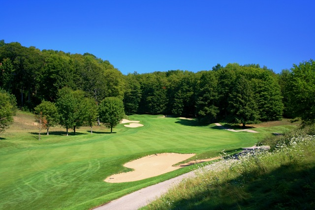 cheap for discount 9ccad 42f1c Shanty Creek Resorts - Legend golf course - hole 18