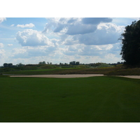 Eagle Eye Golf Club's 11th hole shows the openness of the course.