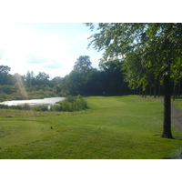 Timber Ridge Golf Club has greens that are tucked back by trees.