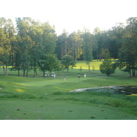 Timber Ridge Golf Club gives even a large group a sense of isolation from nearby Michigan State.