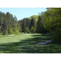 A view of Manitou Passage Golf Club in Cedar, Michigan.