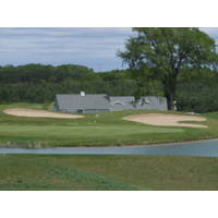 The Crown Golf Club in Traverse City has a good mix of water and hills.