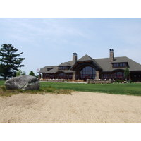 The clubhouse at Forest Dunes G.C. in Roscommon, Michigan.