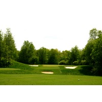 The Orchards Golf Club's par3 12th hole is the course's shortest.