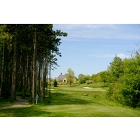 The Orchards Golf Club's 14th hole is the longest of the par 3s on the course.