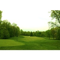 The 10th hole at Shepherd's Hollow Golf Club is a long, straightaway par 4.
