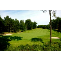 Black Lake Golf Club's par-4 16th hole plays 422 yards from the championship tees.