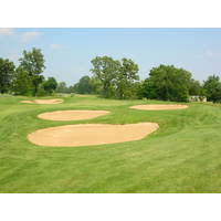 At Timber Trace Golf Club, the difficulty comes in the heavily guarded green complexes.