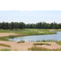 The sandy soil and waste areas are part of what make the Forest Dunes Golf Club so special.