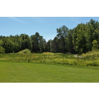 Yep, you guessed it, more wetlands on the seventh hole on the Cutters' Ridge golf course at Manistee National.