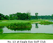 No. 13 at Eagle Eye Golf Club