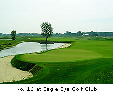 No. 16 at Eagle Eye Golf Club