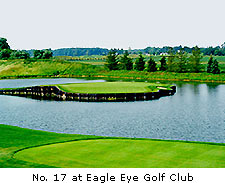No. 17 at Eagle Eye Golf Club