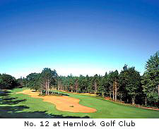 No. 12 at Hemlock Golf Club