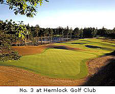 No. 3 at Hemlock Golf Club